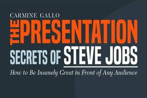 A small fragment from the summary «The Presentation Secrets of Steve Jobs» (Carmine Gallo)